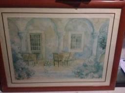 Quadro decorativo 87x67 com moldura