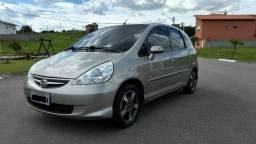 Honda Fit 1.4 LXL 8V Gasolina Automático CVT 2008/2008 Cor: Dourada - Salto SP - 2008
