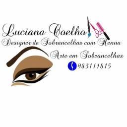 Designer de Sobrancelhas com Henna