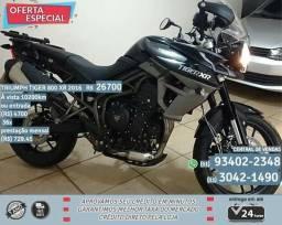 Triumph preto tiger 800 XR 2016 R$26.794 10289km - 2016