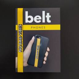 Belt Phones, Salva Celular Evita Quedas Fita Para Capinha de Smartphone