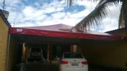 Lona para tenda piramidal