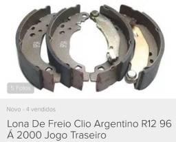 Jogo Sapata / Lona de Freio Renault Clio / FRAS-LE