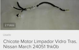 Chicote elétrico Limpador Traseiro Nissan March