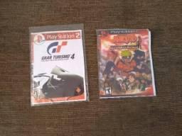 2 jogos PS2/Naruto ultimate ninja? e Gran turismo? 4 comprar usado  Sorocaba