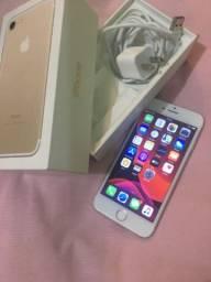 Iphone 7 Gold perfeito estado novinho