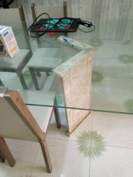Tampão de mesa de vidro