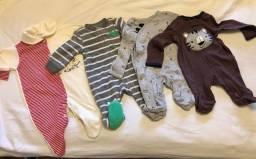 Roupas Menino recém-nascido e 3 meses