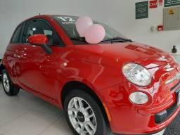Raridade: Novinho Fiat 500 1.4 Cult manual - 2012