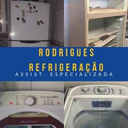 Conserto de máquina de lavar roupas e geladeiras