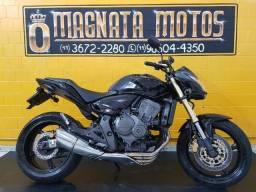 Honda cb 600f hornet - preta - 2012 - km 48.000