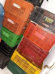 Caixa de feira de plástico