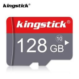 Cartão de Memória Kingstick 128Gb Classe 10 - Original
