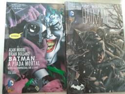 Hq Batman a piada mortal e Batman Noel semi-novo perfeito estado