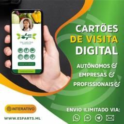 Cartão de Visitas Digital Interativo !