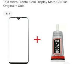 Vidro Moto G8 Plus novo