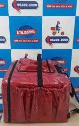 Bag para Pizzas,Lanches e Marmitas 42 Litros encapado com plástico empermeável