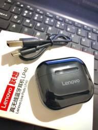 Título do anúncio: Fone de ouvido Lenovo livepods LP40. Produto 100% ORIGINAL.