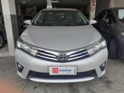 Toyota/ Corolla Xei 2.0 ANO 15/16 cor prata único dono