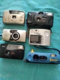Título do anúncio: Máquinas fotográficas antigas para coleção