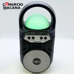Mini caixa de som com bola mágica Inova RAD9025