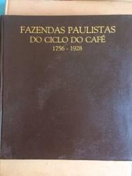 Livro Fazendas Paulistas