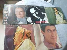 5 Disco de vinil LP Nelson Gonçalves Luiz Gonzaga e Fagner