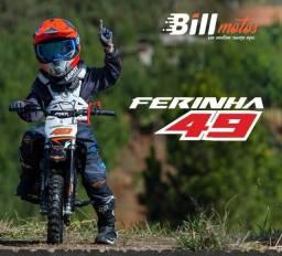 Título do anúncio: Mini moto ferinha extreme 49cc