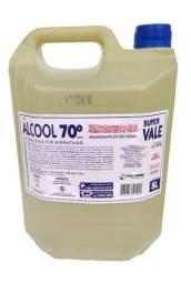 Título do anúncio: Álcool 70% líquido 5 Lts