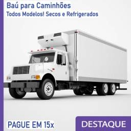 Título do anúncio: Baú Seco e Baú Refrigerado para Caminhão Modelo C4znk