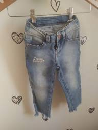 Título do anúncio: Calça Jeans Hering Kids Menina 4 anos