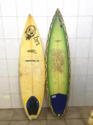 2 pranchas de surf usadas