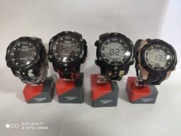 Relógio digital speedo com caixa