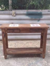 Aparador de madeira maciça rústico
