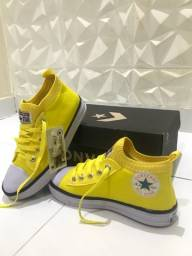 Converse All Star Amarelo n37/38