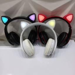 Fone orelha de gato (entrega grátis)