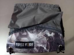 Bolsa Sacola Infantil Free Fire