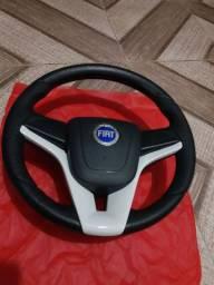 Volante Cruze, emblema FIAT azul