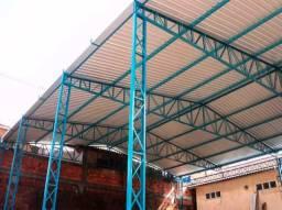 Título do anúncio: Estruturas Metálicas - Galpões - Coberturas - Mesanino - Modulos habitacionais