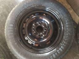 Título do anúncio: 2 rodas de Fiat aro 13 sem detalhes