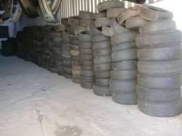 Lote de pneus (+-1000) aceito troca carro dou volta em dinheiro