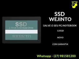 Hd/SSD 120gb Wejinto Sata III (Produto Novo e com Garantia)