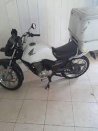 Vendo moto fan cargo 125+reboque+baú