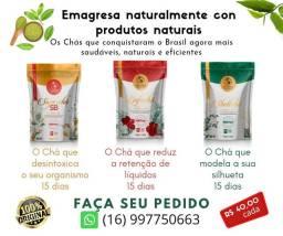 Vendo Chás saudáveis que ajudan a emagreser e melhora sua saúde