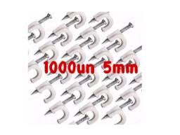 Fixador De Fios Coaxial Rg 59/ Cabo Drop - 5mm 1.000un Liq