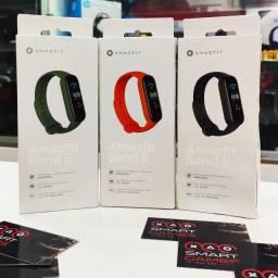 """Smartband Amazfit Band 5-1.1"""" Amoled - Alexa Integrado E Oximetro"""