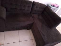 Título do anúncio: Vendo um sofá em L