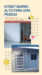 Título do anúncio: Peça com cozinha e banheiro individual para homem
