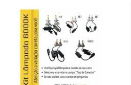 Título do anúncio: Lampada Led Automotivas H1 H3 H4 H7 H8 H11 Hb3 Hb4 6000k