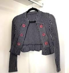 Título do anúncio: Lote de blusinhas básicas e casaquinho